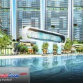 Acqua Private Residences Water Feature 1