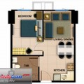 Avida Towers 34th Street 1 Bedroom Unit 36.75 to 40.68 sqm