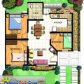 Hampton Orchards Cherry House Model Floor Plan
