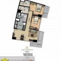 The Florence Residence 2 Bedroom 79.60 sqm