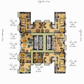 Two Residences at Marco Polo 17th to 27th Floor Plan