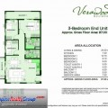 Verawood Residences 3 Bedroom End